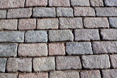 Walkway stone bricks — Stock Photo