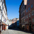 Old city street of Riga — Stock Photo