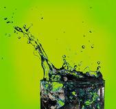 Powitalny wody w szkle — Zdjęcie stockowe