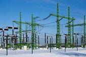 電気駅 — ストック写真