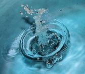 Water splash — Stockfoto