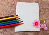 Cartão fotográfico — Fotografia Stock