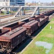 Cargo trains — Stock Photo