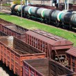 Stock Photo: Cargo trains