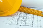 Building plan — Stock Photo