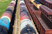 Stezka kontejnerech — Stock fotografie