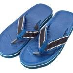 Beach slippers — Stock Photo #8933892