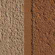 Orange cement plaster - Stock Photo