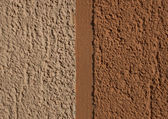 Orange cement plaster — Stock Photo