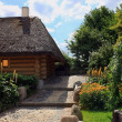 Thatched house — Stockfoto
