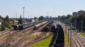 Nákladní vlaky — Stock fotografie