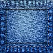Jeanshintergrund — Stockfoto
