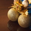Chrsitmas tree balls — Stock Photo