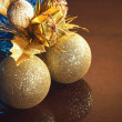 Chrsitmas tree balls — Stock Photo #9215855