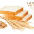 Wheat product and ears — Stock Photo #9406136