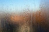 Rainy window — Stock Photo