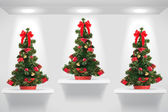 Christmas trees — Stock Photo