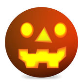 Halloween dýně vektor — Stock vektor
