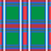 Tartan plaid pattern, seamless — Stock Vector