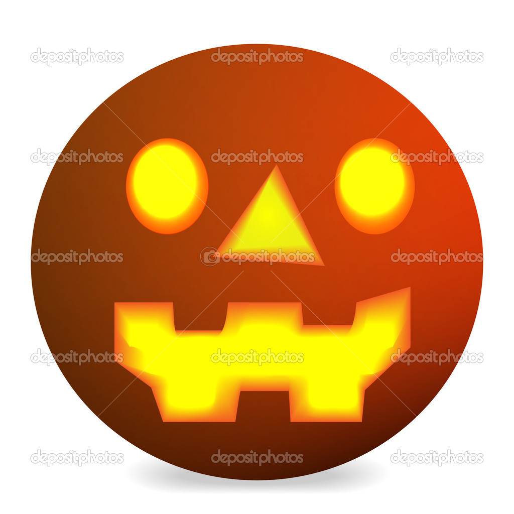 Halloween pumpkin vector  — Stock Vector #9553968