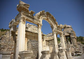 Hadrian temple in Ephesus — Stock Photo