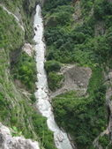 River in the gorge — 图库照片