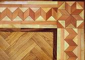 Wooden Parquet Floor Texture Background — Stock Photo