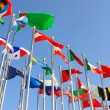 Different countries flags - Stock Photo