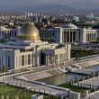 Stock Photo: General Views to president palace. Ashkhabad. Turkmenistan.