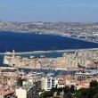 Stock Photo: Marseille city view from notre dame de lgarde's hill