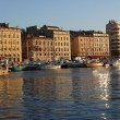 Marseille harbor - Stock Photo