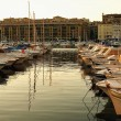 Boats in port of Marseille — Stockfoto #8397212