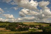 Summer in the Bourgogne, France. — Stock Photo