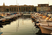 Boats in the port of Marseille — Stock Photo