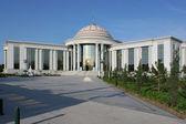 Celkový pohled na univerzitu. Ašchabad. Turkmenistán. — Stock fotografie