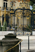 Gilt Gate of Elysee Palace in Paris — Stock Photo