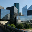 Modern buildings in the business district of La Defense to the west of Paris, France. — Stock Photo #9955779