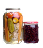 Home canning — Stock Photo