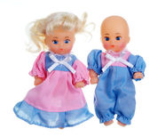 Two Dolls — Stock Photo
