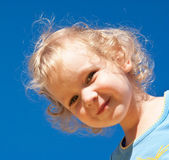 Portrait of child — Stock Photo