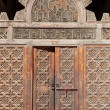 A doorway in Ali Ben Youssuf Madressa — Stock Photo