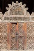 A doorway in Ali Ben Youssuf Madressa — Stock Photo