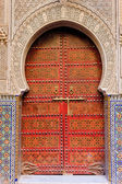 Moroccan entrance — Stock Photo