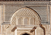 Moroccan architecture — Stock Photo