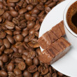 Chocolate and Coffee — Stock Photo