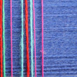 Background from color threads for knitting — 图库照片