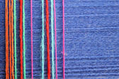 Background from color threads for knitting — Stock Photo