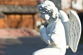 Angel praying — Stock Photo
