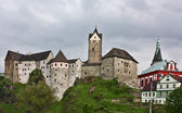 Loket Castle (Czech: Hrad Loket), Czech Republic — Stock Photo