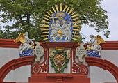 Portal of monastery Bautzen, Germany — Stock Photo